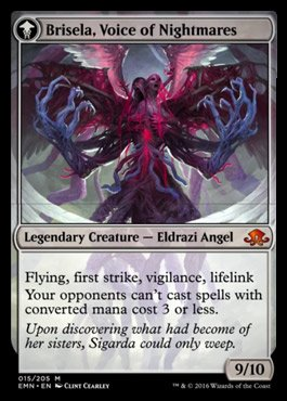 Brisela, Voice of Nightmares - MTG