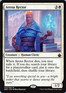 Arena Rector from Battlebond Spoiler