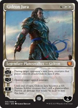 Gideon Jura from Signature Spellbook Gideon Spoiler