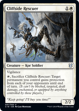 Cliffside Rescuer From Commander 2019 Spoiler