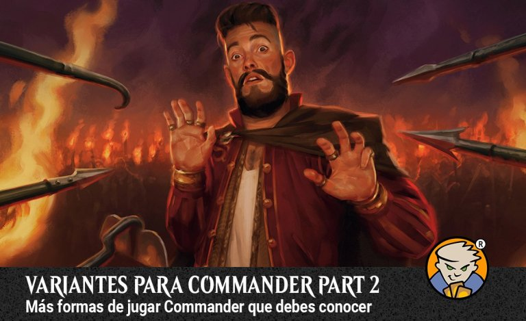 Variantes para commander parte 2 banner Magicsur Chile