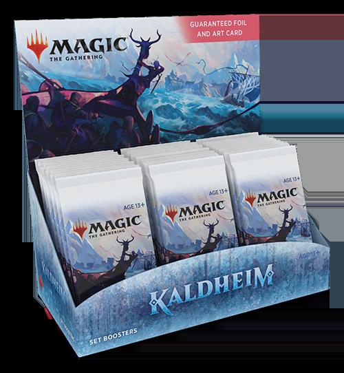Productos de Kaldheim - Set Booster en Magicsur Chile
