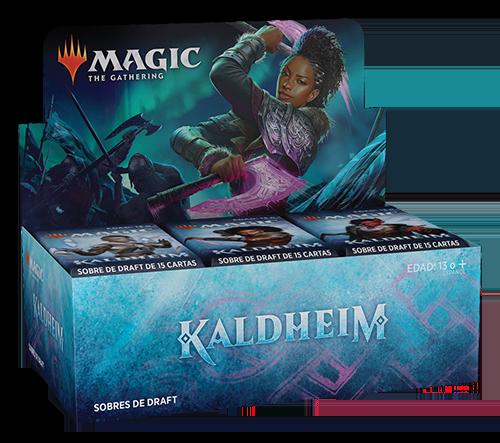 Caja de sobres de Draft de Kaldheim en Magicsur Chile
