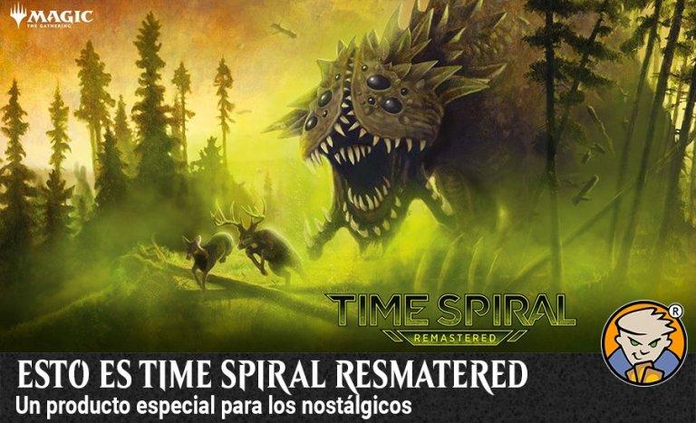 Esto es time spiral resmatered banner magicsur blog