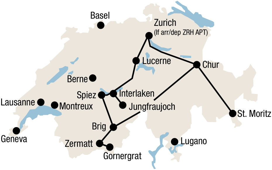 swiss-premium-tour-route