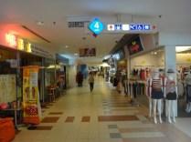 Berjaya times square shopping center interior