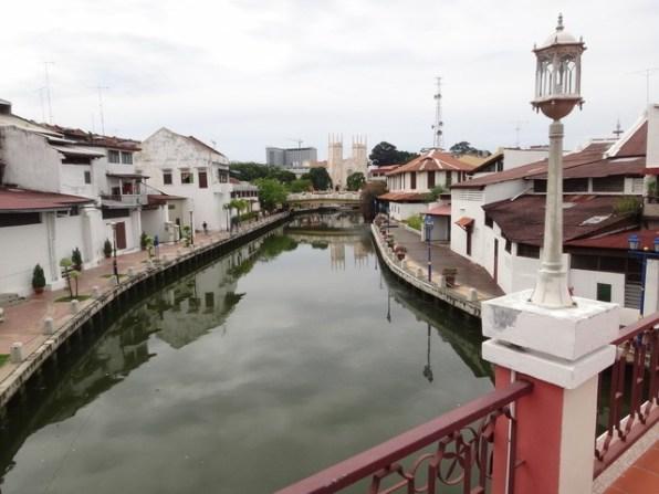 the Melaka river