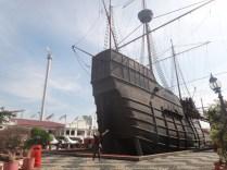 replica ship Melaka