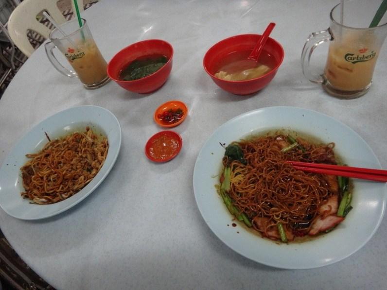 first meal in kuala lumpur
