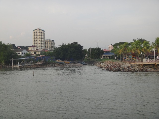 fishing shack at the Portuguese village Melaka