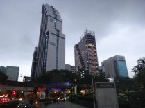 some of the many tall buildings in Kuala Lumpur