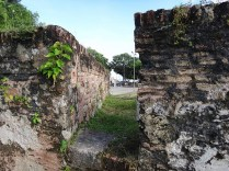 Fort Cornwallis Wall
