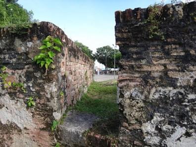Fort Cornwallis Wall