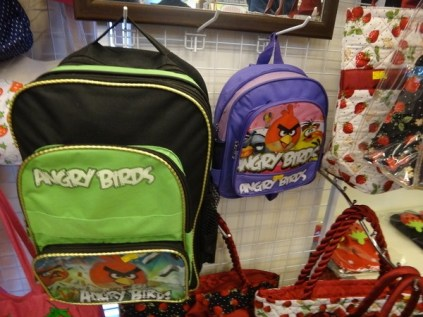 angry birds backpacks