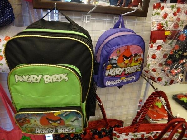 angry birds backpacks