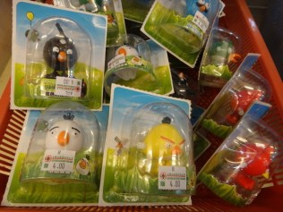angry birds wind up toys