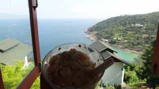 Utopia Resort - Breakfast with a view