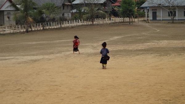Ban Bom Village - The School Oval