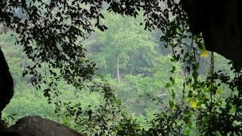 Nong Khiaw - Patok Caves - The View From The Window