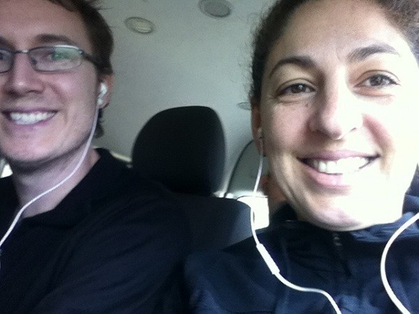 On The Bus - Amusing Ourselves With Podcasts