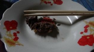 Vieng Xai - Cooked Bamboo Rat