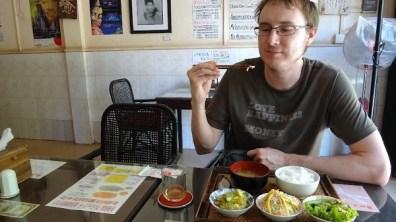 Guru Mother Cafe - Andrew Enjoying Something