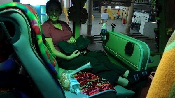 Heading To Bangkok On The Night Bus