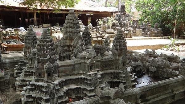 Mini Angkor Wat - Mini Wat Work