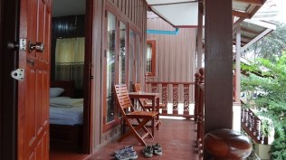 Phongsavanh Guesthouse - The Balcony For Our Bungalow
