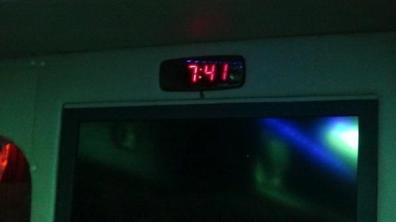 Vientiane to Bangkok - Bus Finally Left Nong Khai at 7.41pm