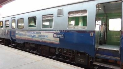 Vientiane to Bangkok - International Train - Thanaleng - Nong Khai - Thanaleng
