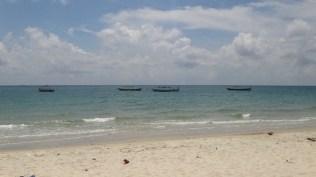 Hawaii Beach, Sihanoukville - Beach and Boats
