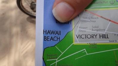 Hawaii Beach, Sihanoukville - Map