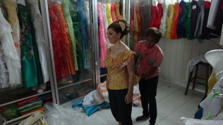 Khmer Traditional Costume - Traditional Costume Fitting