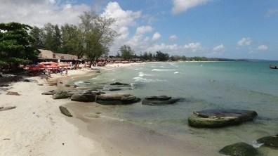 Ocheuteal Beach, Sihanoukville - Nice Cove of Beach