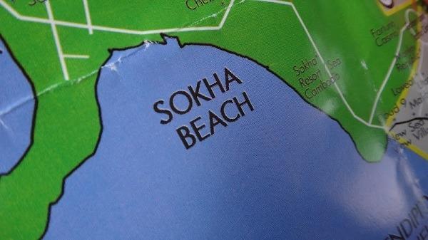Sokha Beach, Sihanoukville - Map