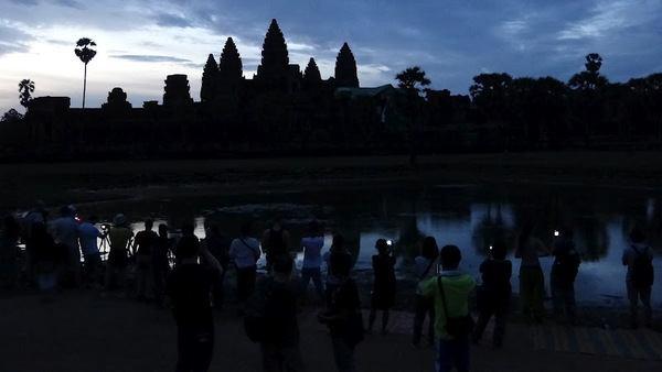Angkor Wat, Siem Reap, Cammbodia At Dawn
