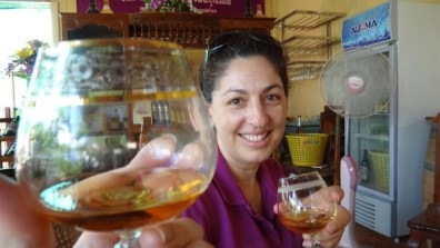 Brandy at Cambodia's Only Winery