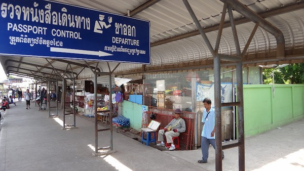 Passport Control To Leave Thailand And Enter Cambodia