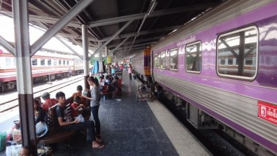 Train From Bangkok to Aranyaprathet