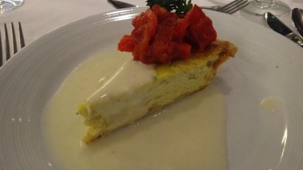 Romeo and Juliet Main Dining Hall Night 1 Menu - Vidalia Onion Tart