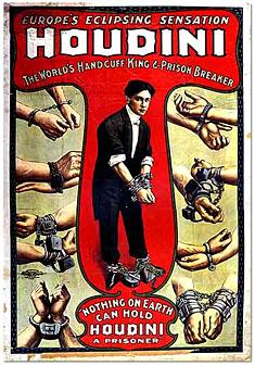 Harry Houdini, Hungarian-American Illusionist, Magician