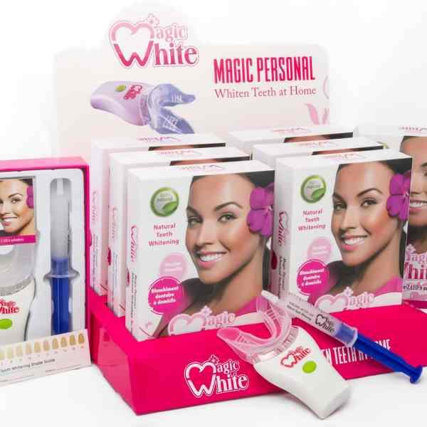 Magic Personal, le blanchiment dentaire à domicile