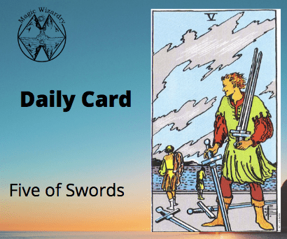 Five of Swords Daily Card
