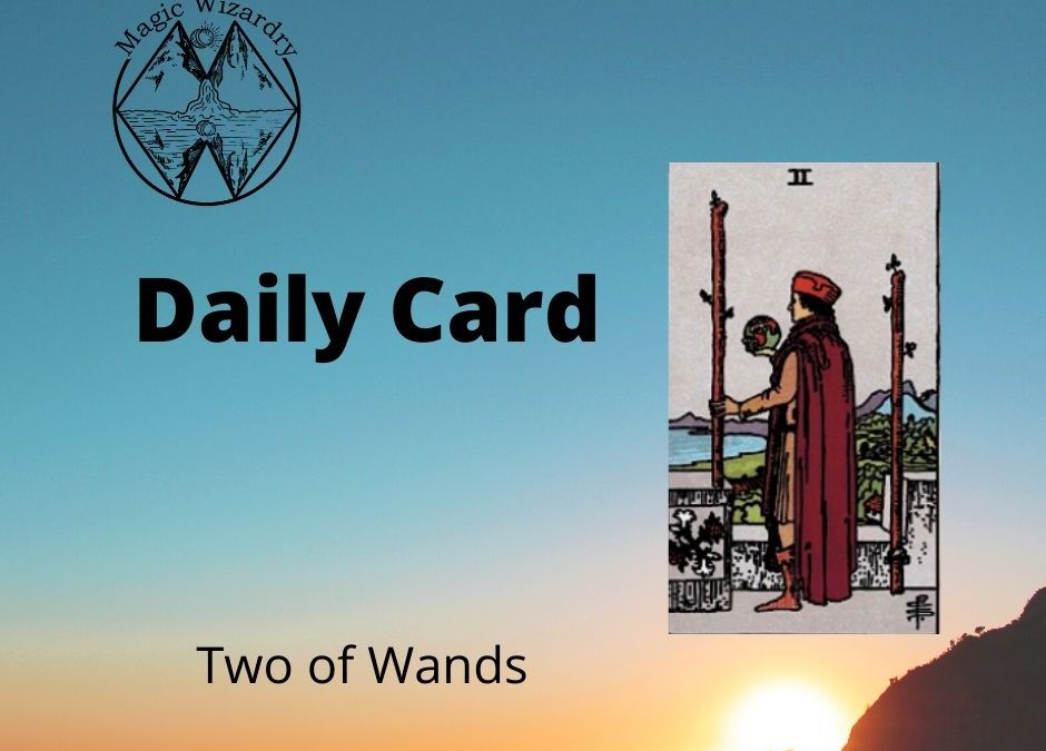 Two of Wands Daily Card