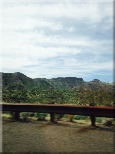 az roadside scenery