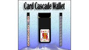 Card Cascade Wallet by Heinz Minten - Trick