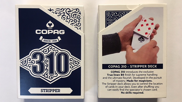 Copag 310 Stripper (Blue) Playing Cards