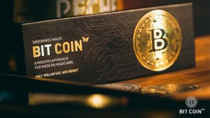 The Bit Coin Silver (3 Gimmicks and Online Instructions) by SansMinds - Trick