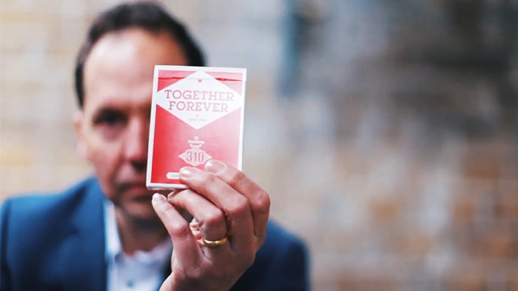 Copag 310 Together Forever (Red) Playing Cards